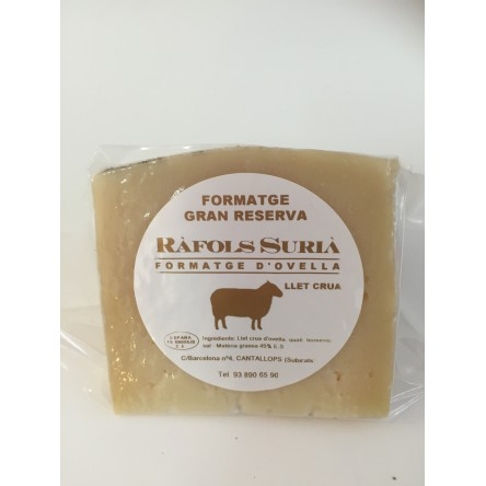 Queso  de Oveja de larga maduracion 100 gr