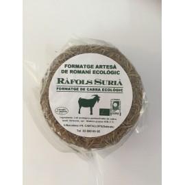 Queso de Cabra con Romero Ecologico